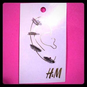 H&M Earlobe and Eartip Earrings